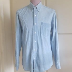 Chaps Ralph Lauren Lightwash Denim Shirt,16,34/35